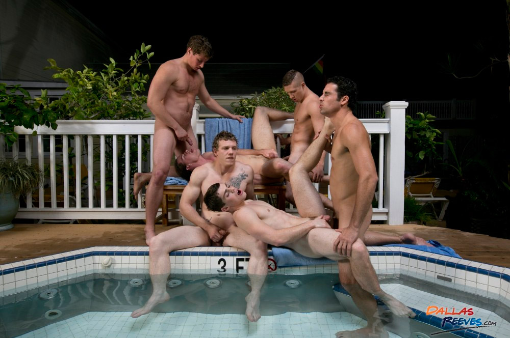 Naughty homo bound with ejaculation